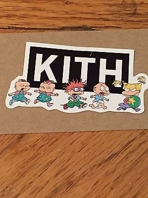 Kith Set Box Logo Bogo New York City NYC X Rugrats Exclusive Sticker