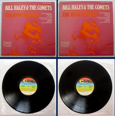 Bill Haley & The Comets In Sweden Very Rare Italy Lp Clan Celentano '70'nmint