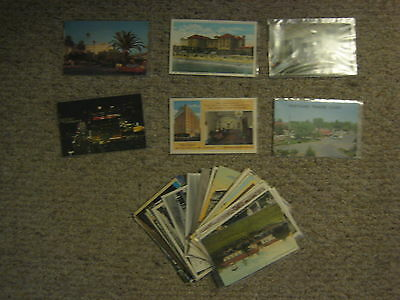 Old un-used postcards (24) of California hotels