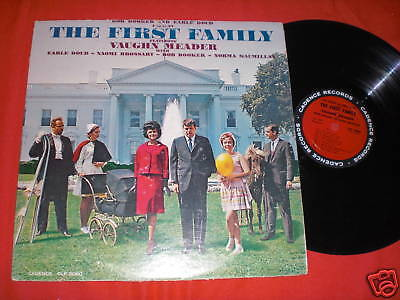LP The First Family Bob Booker And Earle Doud CLP-3060