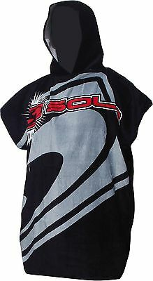 BNWT Sola Adults Hooded Poncho Swim Surf Changing Robe All Sizes