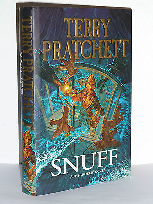 Snuff By Terry Pratchett, Signed 1St/1St Edition In Near Mint Condition