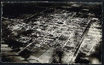3352 Chile Curico Aerial General View Postcard