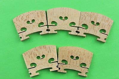 30pcs high quality Violin bridges maple wood 4/4 full size, Violin accessories
