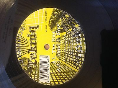 """Tekniq- The Riot / Hold It Now 12"""" Vinyl Drum and Bass Formation Records 1996"""