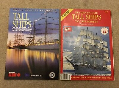 Return of the Tall Ships to the Mersey programme 1992 & Wirral Globe Tall Ship