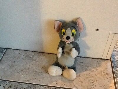warner bros tom and jerry beanie soft toy
