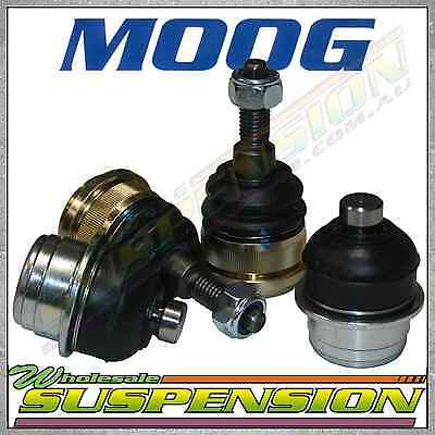 Set of 4 GENUINE MOOG Front Lower & Upper Ball Joints for Ford Falcon AU BA BF
