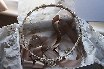 Bespoke bridal boho headpiece - Emmy London
