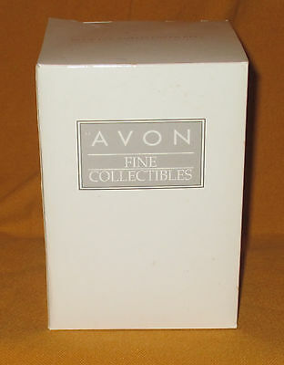 Avon Fine Collectibles Blue Jay And Flower Bell (New In Box!!!)