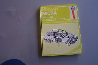 Nissan Micra Haynes Manual