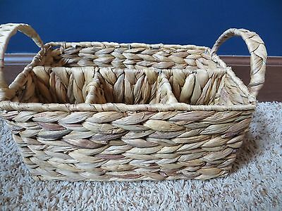 Tastefully Simple Basket for utensils, condiments, parties