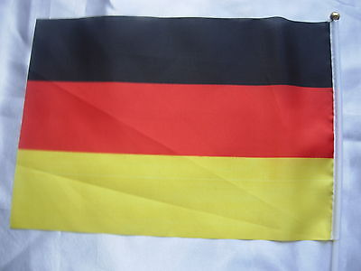 100 Germany Waving Flags 20cm x30cm Olympic