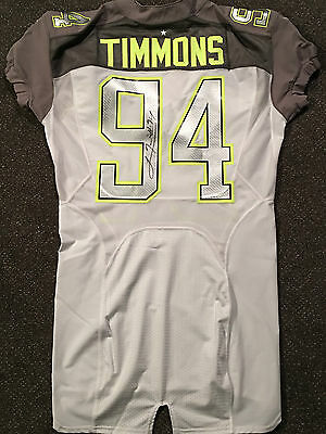 LAWRENCE TIMMONS NFL Season #94 Game Issued Pro Bowl Jersey Pittsburgh Steelers