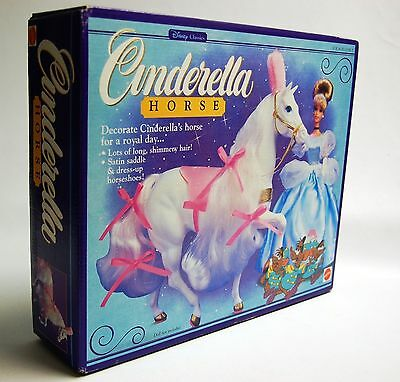 Mattel Disney Classics Cinderella Horse 1991 Sealed in Package