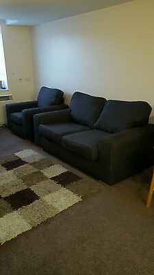 DFS  large 2 seater sofa and chair