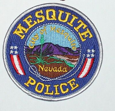 CITY OF MESQUITE POLICE Nevada NV PD patch