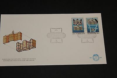 Netherlands 1982 Royal Palace  First Day Cover Ex Cond