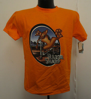 Scooby Doo Youth Large Shirt Printed New Cartoon Network Hanna Barbera Kids