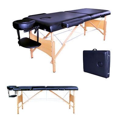 Pink portable massage table bed beauty therapy couch 2 for Mobile beauty therapist table