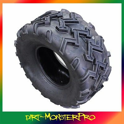 4PLY 24 x11-10 10 Inch Tubeless Tyre ATV UTV Quad Bike Gokart Mower Buggy Atomik