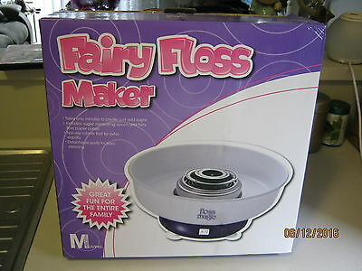 Fairy Floss Maker in box New never used with instruction manual Pick up Only