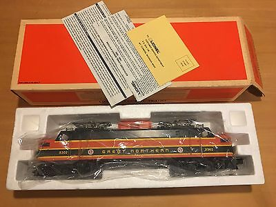 Lionel Great Northern Electric Engine 6 - 18302, O Gauge Train