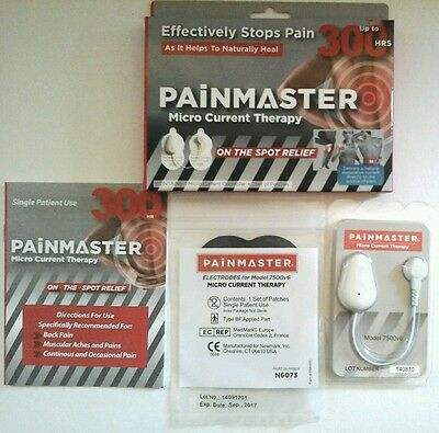 Painmaster Micro Current Therapy.  1 Set Of Patches. Up To 300Hrs Use.