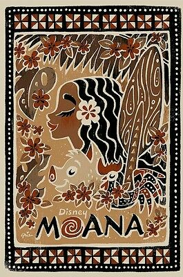 """Disney Moana Signed Limited-Edition Print of 195 20""""x30"""""""