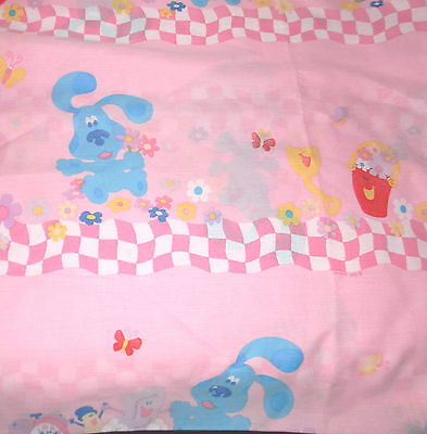 Blue's Clues bed sheet twin fitted polyester Dan River