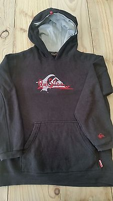 Quiksilver Boys Size 8-10 Hoodie Jumper - Good Condition