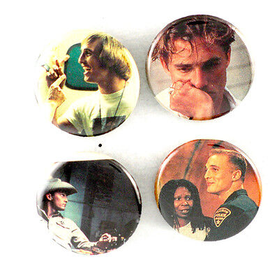 Matthew McConaughey Pins Dazed and Confused Buttons Badges