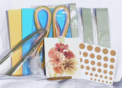RARE Vtg MARTHA Stewart BY MAIL Floral QUILLING KIT - New & UNUSED in ORIG. BOX