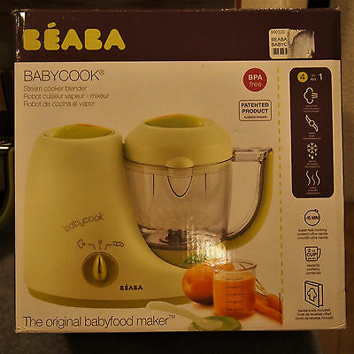Beaba Babycook Classic Baby Food Maker in Sorbet Pre-owned Excellent CLEAN