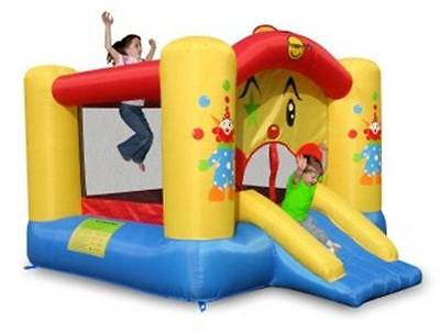 9201 Clown Jumping Castle with Slide (Happy Hop)