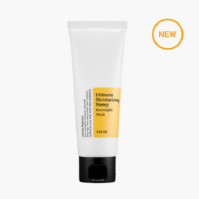 [COSRX] Ultimate Moisturizing Honey Overnight Mask 60m (+Free SP)