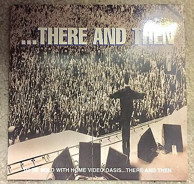 Oasis There And Then 3 Track Live CD