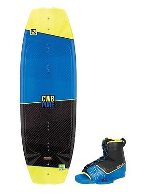 CWB Pure  135 Wakeboard with Venza Boots Size 9-12 NEW