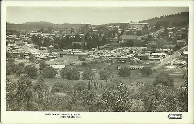 Postcard - Armidale from North Hill, NSW, Australia - 1950's
