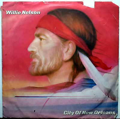 Willie Nelson ?City Of New Orleans 45 FREE SHIPPING!