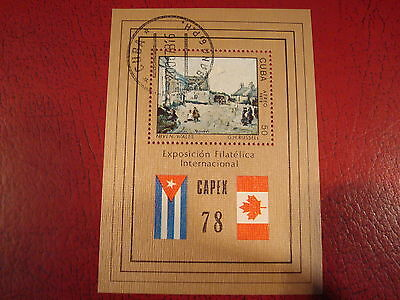 Central America - 1978 Capex - Minisheet - Unmounted Used - Ex Condition