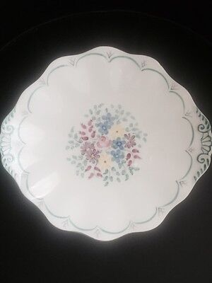 Hand Painted Foley Bone China Cake Plate And Bowl