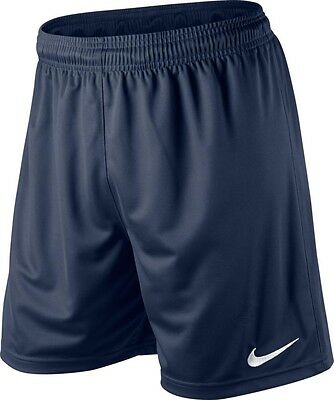 Shorts Football/ Soccer Nike Park Midnight Blue 5 Adult Size Small