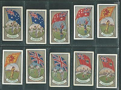 Allen's Sports And Flags Of Nations 1936 69/72 Trade Cards