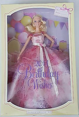 Authentic - Mattel - Barbie Collector - 2014 Birthday Wishes Barbie Doll