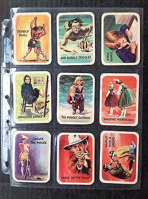 Cereal Foods Vita Brits Ripleys Believe It Or Not 1961 Set/30 Trade Cards