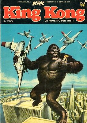 KING KONG supplemento a Kirk - Cenisio editore