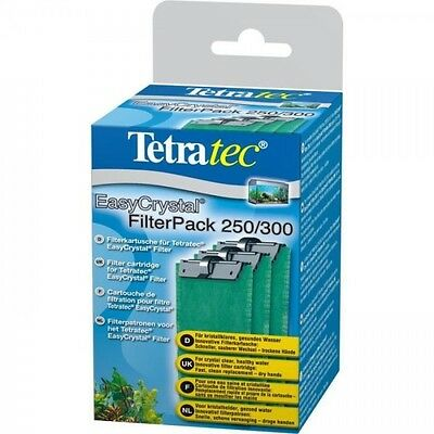 TETRA Cartouches Filtre EasyCrystal Pack 250/300