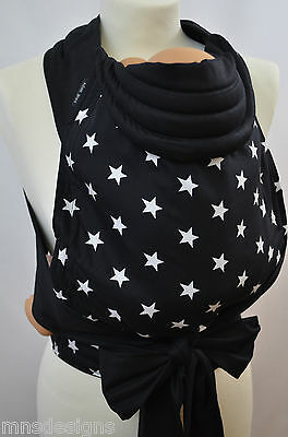 Mei Tai Baby Carrier / Sling /reversible / Stars / Made In Uk/ready Made Carrier
