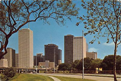 Postcard Spectacular Skyline View of HOUSTON Texas USA United States